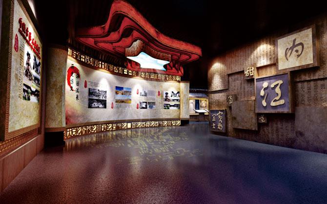 内江市市中区印象中区展览馆